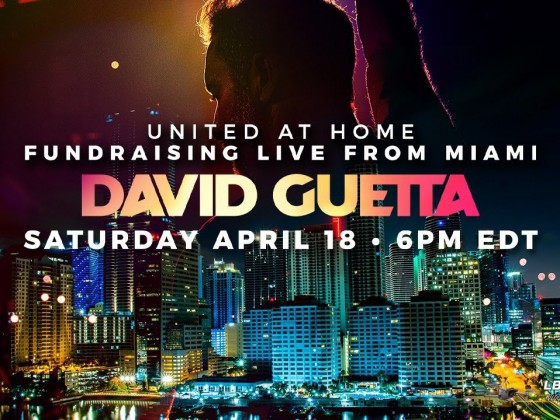David Guetta | United at Home - Fundraising Live from Miami #UnitedatHome #StayHome #WithMe