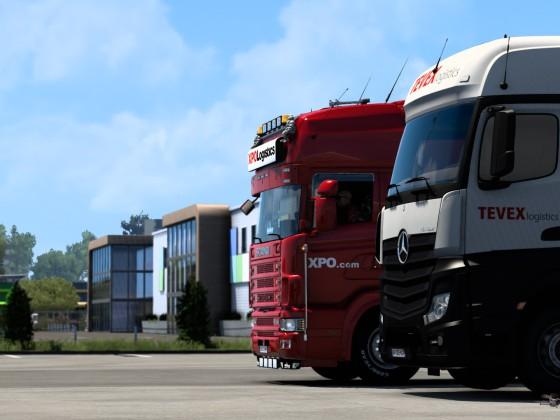 Scania 4 Series XPO Logistics