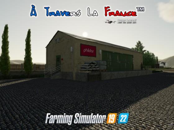 Map À Travers La France™ - Phildar