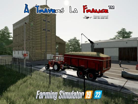Map À Travers La France™ - Coopérative Agricole Lorraine