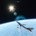 Alt 275 000 ft - Orbital Arlines